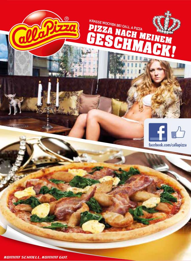 Pizza nach meinem Geschmack!