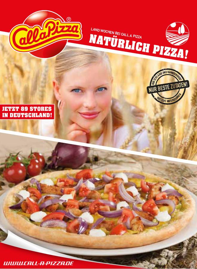 Natürlich Pizza!