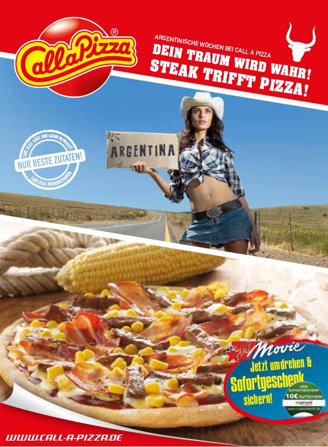 Dein Traum wird wahr! Steak trifft Pizza!