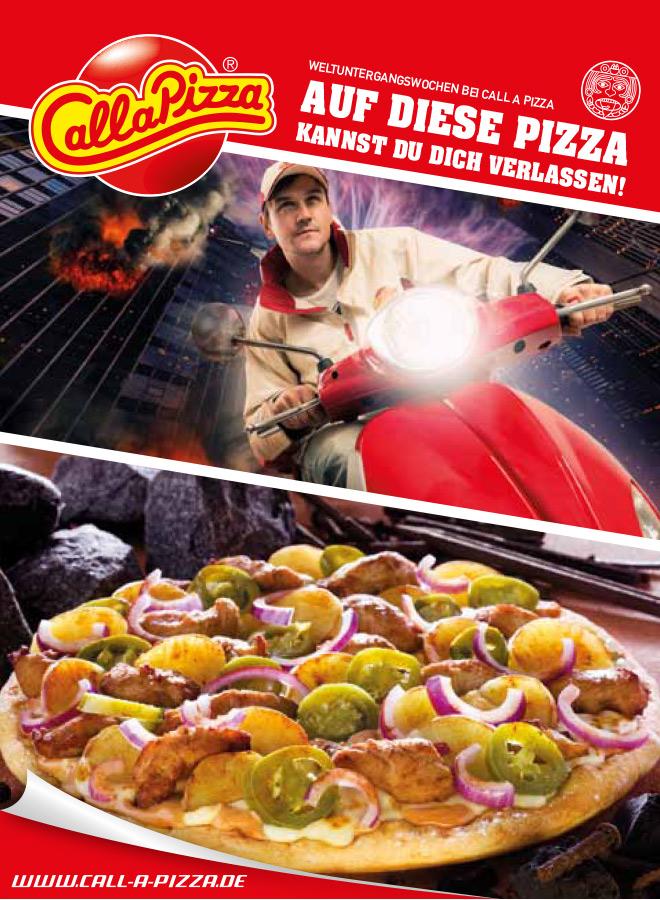 Auf diese Pizza kannst du dich verlassen!