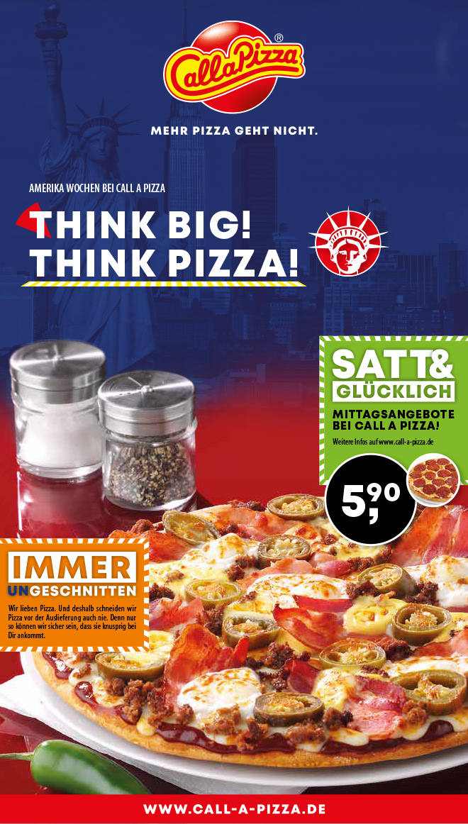 Think Big! Think Pizza!