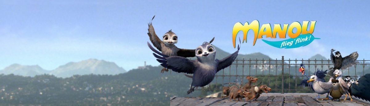 TOLLES GEWINNSPIEL ZUM FILMSTART VON MANOU – FLIEG' FLINK!