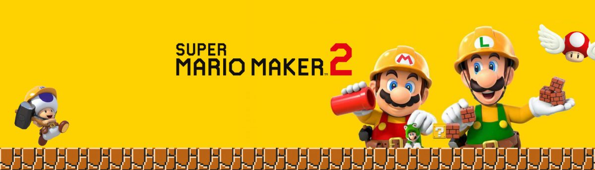 Let's build together: SUPER MARIO MAKER 2 Gewinnspiel!