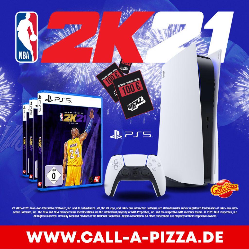 NBA2K21 Gewinnspiel - Jetzt mitmachen und eine Playstation 5 gewinnen